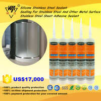 Silicone Stainless Steel Sealant/Sealling For Stainless Steel And Other Metal Surface/Stainless Steel Sheet Adhesive Sealant