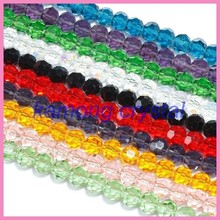 Wholesale new arrival fashion colorful high quality crystal glass bead