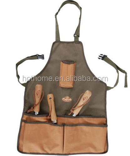 Multi-purpose Garden Tool Apron Men Tool Apron Custom Design Canvas Tool Waterproof Apron
