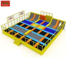 Wall Runner Used Trampoline Park For Sale