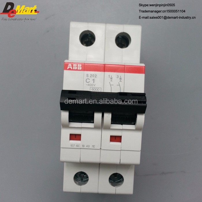 ABB breaker S202-C1 MCB air switch