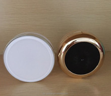 Trade Assurance empty 15g black / white cosmetic air cushion BB cream container with mirror