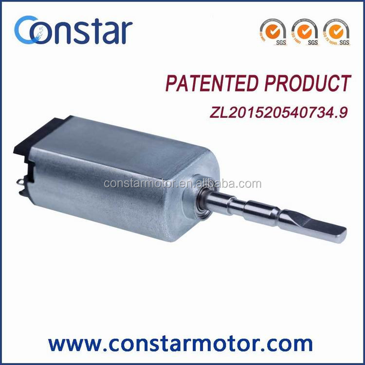Shenzhen factory low noise sonic motor 3.7V 20mm electric toothbrush motor