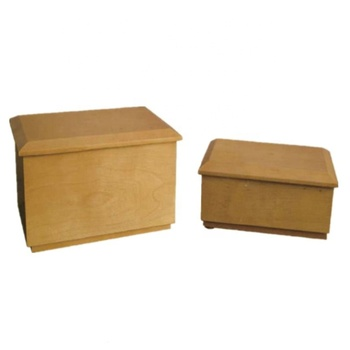 MKY B021 Pet Memorial Urns Wood Cremation Caskets bio urn for dag and cat