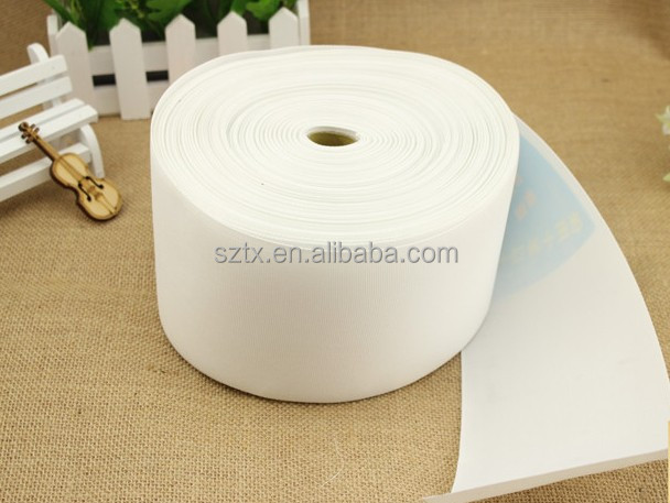 8cm to 12cm woven eyelet curtain tape with rings for curtains