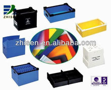 eco-friendly folding corrugated plastic boxes made in China