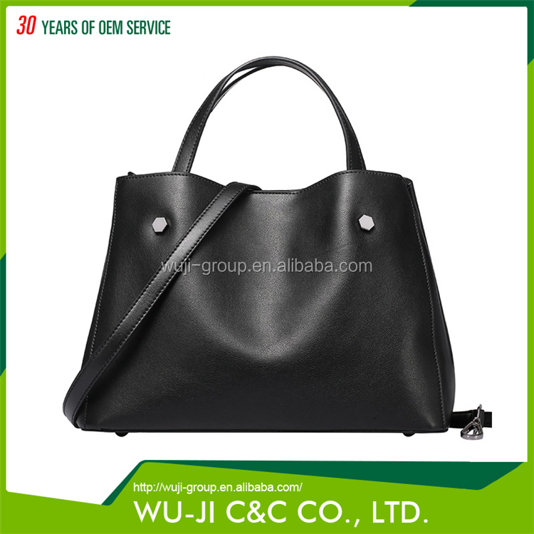 Online Shopping Top Grain Lady Leather Women's Carryall Hobo Leather Bag