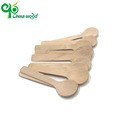 Custom printed disposable bulk plain wooden spoons utensils