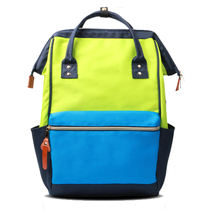 2017 female college fashion trend leisure laptop backpack bag to free sample