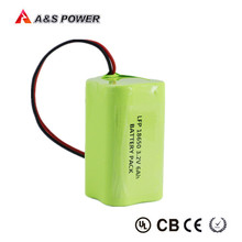 Lithium 18650 1S4P 6ah 3.2v lifepo4 rechargeable battery pack For led light