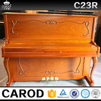 88 keys children wooden piano size with piano cover and chair