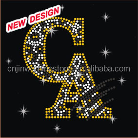 Zebra CA Iron On Transfers Rhinestone Applique for T-shirts FY 43 (29)