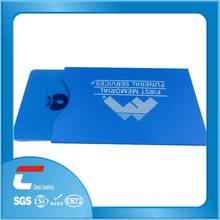 Credit Card Use and rfid blocking sleeve factory logo branding printing promotion oem