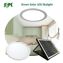 Green energy solar sun ceiling skylight 15 watt portable solar panel 300mm led ceiling panel interior house light