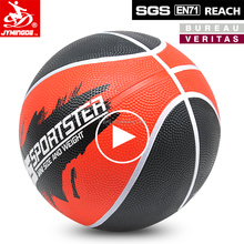 Indoor outdoor custom printed small rubber basketball size 3