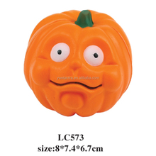 pumpkin shape pu squeezable ball pu stress pumpkin toy pu pumpkin