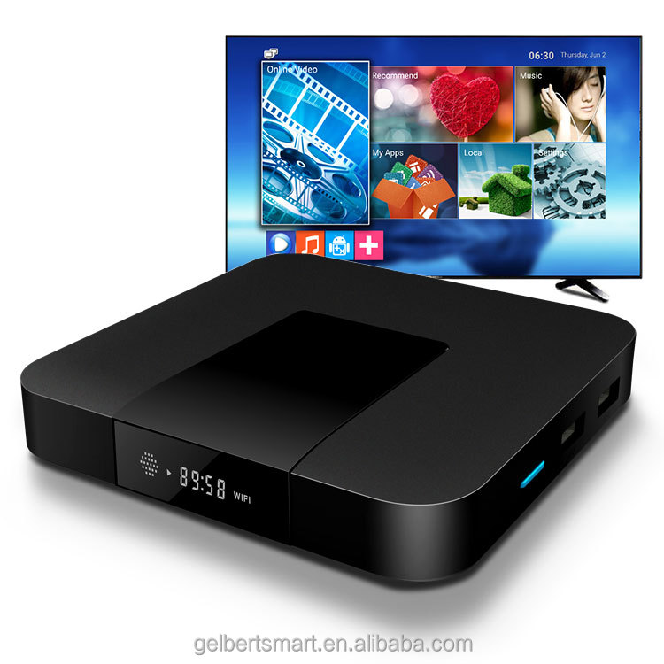 Gelbert wholesale S905W TX3 mini 2gb ram 16gb rom hd internet <strong>tv</strong> box android