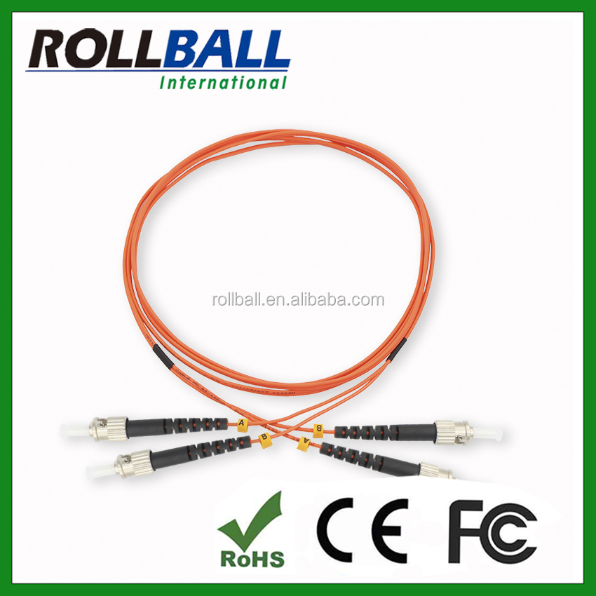Duplex OM1 OM2 5meters st fiber optic patch cords