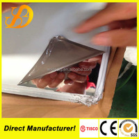 construction companies 8k mirror finished stainless steel sheet made in china