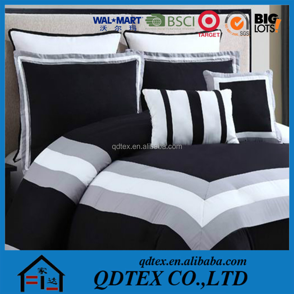 100% microfiber filling in 200gsm poly cotton patchwork bedding sets