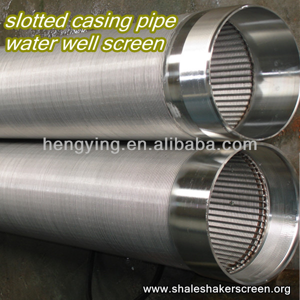 slotted water well casing pipe (professional manufacturer)