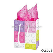 Pastel Color Brick Gift Bags