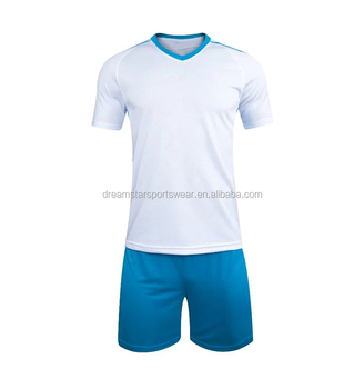 Sublimation Blue Jersey Soccer Uniforms,Custom Soccer Jersey