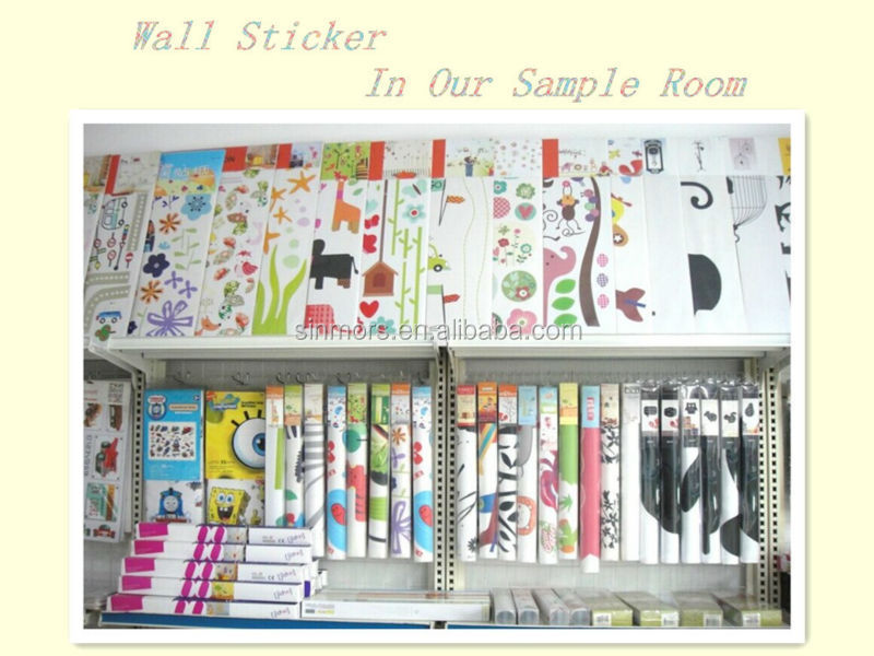 Wall Sticker In Sample Room
