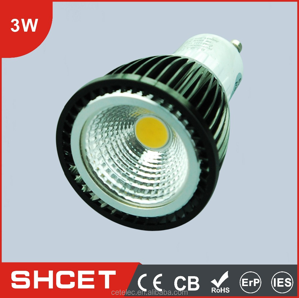 90 LM/1W AC85-265V CET-057 3W COB Led Decorative Spotlights LED Spot light