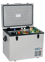 70L 12V 24V portable fridge freezer mini refrigerator fridge freezer