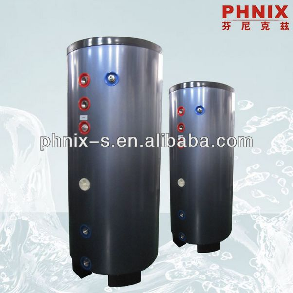 Pressure split insulated hot water tank