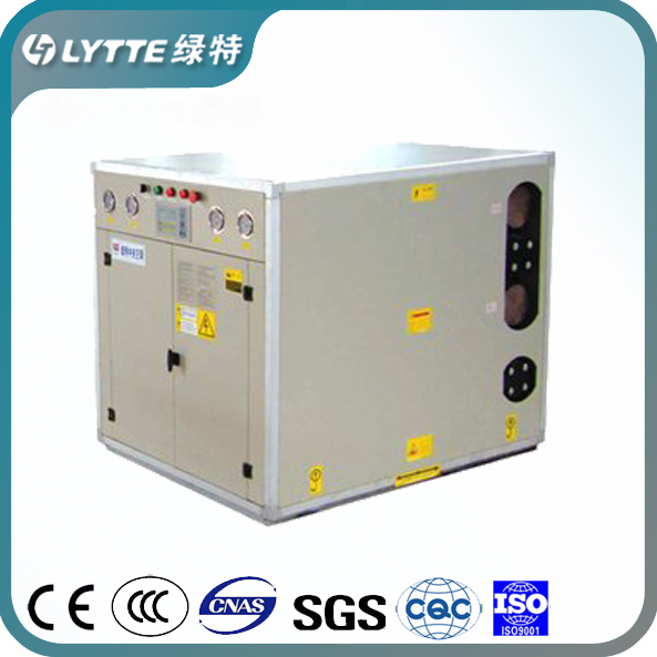 HVAC Central Air Conditioner R404a Geothermal Ground Source Heat Pump for Heating Cooling Sanitary Hot Water