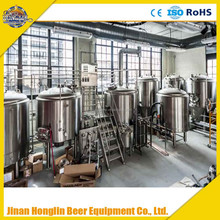 5 bbl microbrewery equipment include 5bbl brewhouse and fermenter equipment
