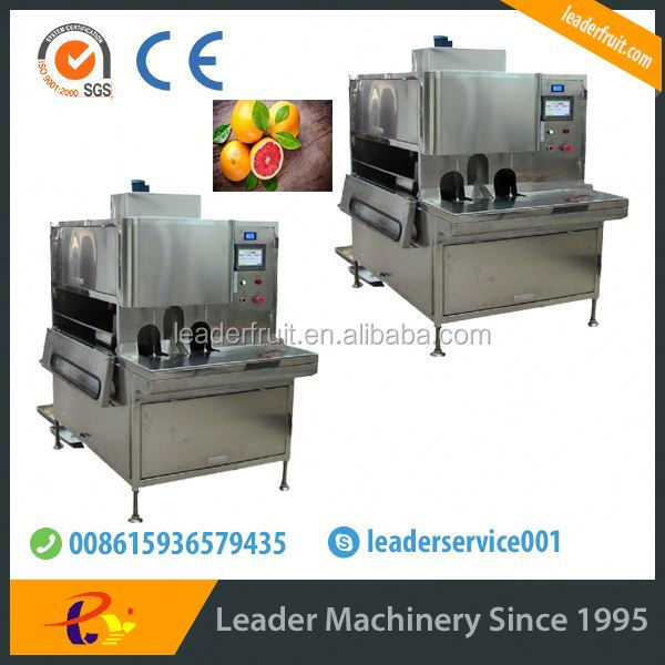 Leader popular shucking/peeling machine for variety of medium-size fruit