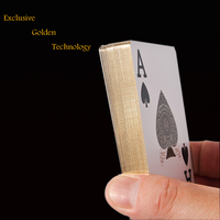 promotional poker/custom golden playing card