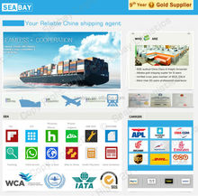 International container transport service from china to europe