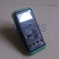 Auto Ranging 3 3/4 LCD 3999 Counts AC DC Digital handheld multimeter MASTECH MY68 Electronic measuring instrument