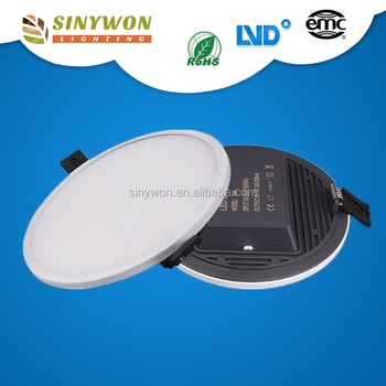 High Lumen Output 145mm 16W Narrow Edge Surface Panel Light Led