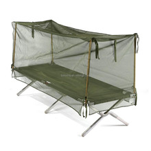 Types of military green designer bed meditation mosquito net