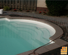 Natural Stone Swimming Pool Coping