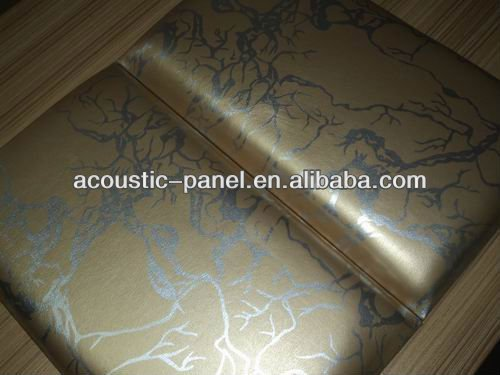 Background wall decoration soundproofing acoustic fabric panels