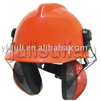 helmet with earmuff (noise proof)
