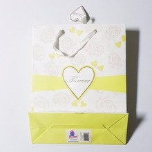 Led light up promotional flashion shopping gift paper bag