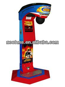 2013 hottest Boxing Punch game machine/Boxing fighting game machine/punch game machine-Big Punch
