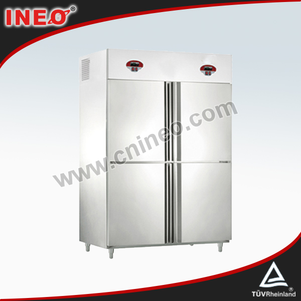 4 Doors Double Temperature Refrigerator And Freezer/Commercial Gas Refrigerators/Twin Refrigerator And Freezer