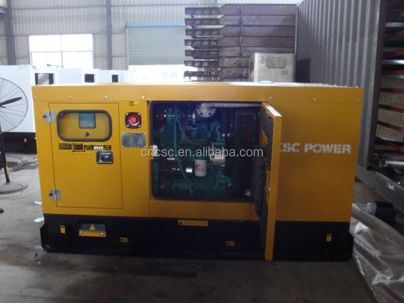 with cummins engine diesel electric generators made in china