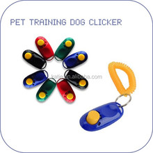 2016 hot selling dogs clickers dog stick training clickers for dogs