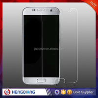 Mobile phone accessory Tempered glass screen protector for Samsung s7