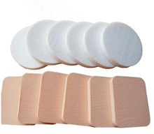 beauty tool cosmetic puff natural facial sponge SBR latex makeup sponge pads