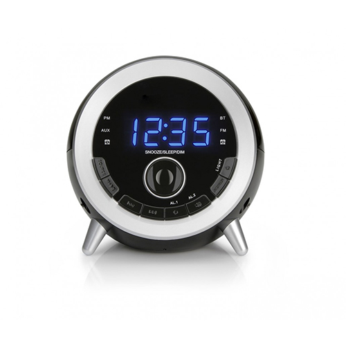 Blueooth Speaker with FM radio and Alarm clock Multi-colored Night Light